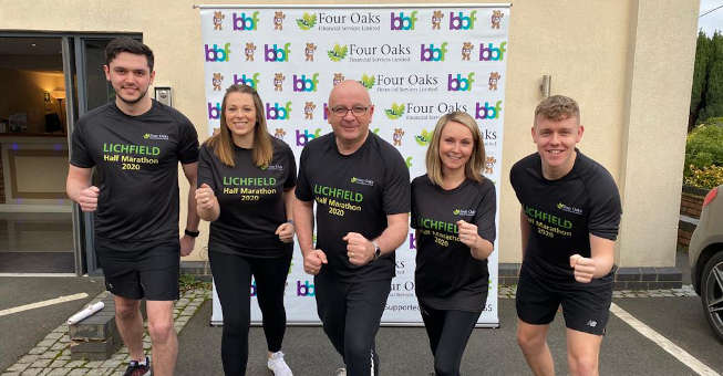 Four Oaks Financial Services sponsor Lichfield Half Marathon for two years