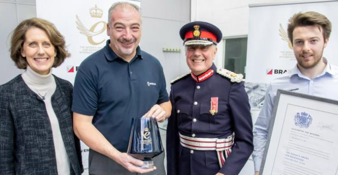 'Green' contract win for Brandauer helps it celebrate Queen's Award success
