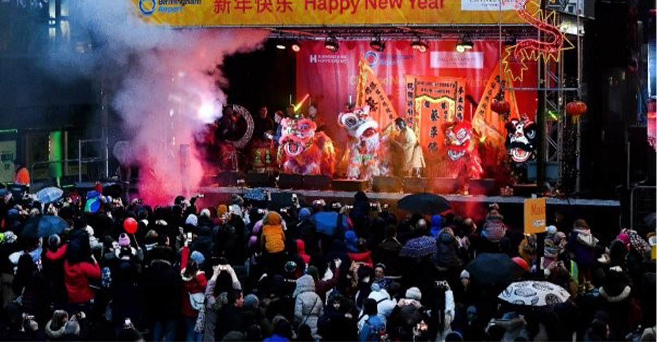 Over 40,000 people welcome in the Year of the Rat across Birmingham