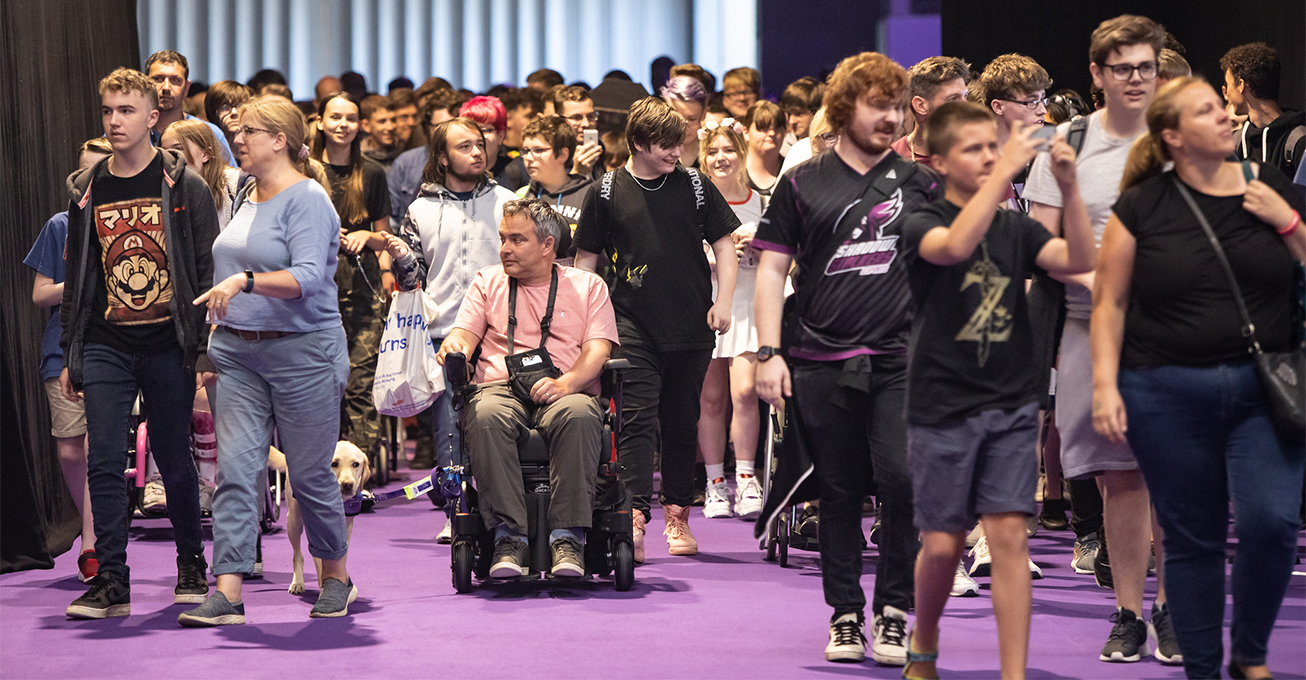 Access all areas – Insomnia Gaming Festival leads best practice for festival accessibility