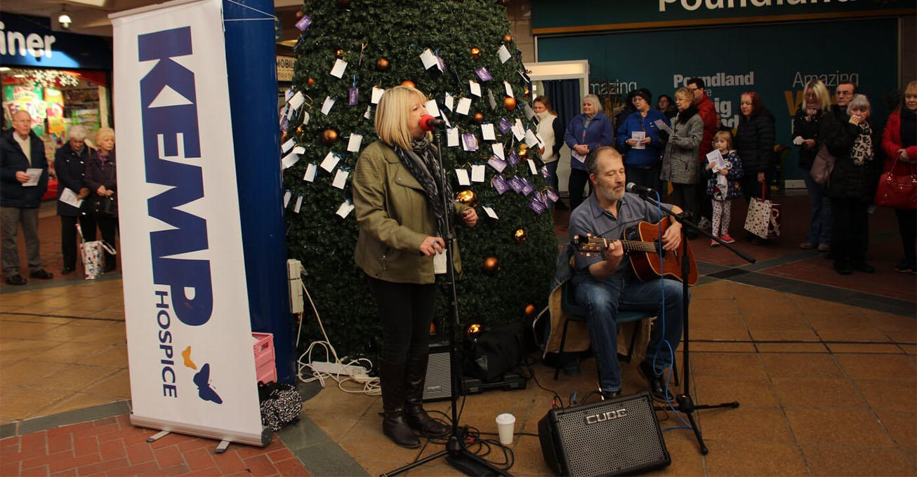 Local singer songwriter records fundraising single for KEMP Hospice