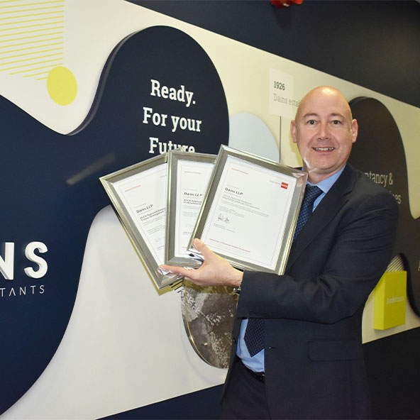 Dains is reaccredited with ACCA Approved Employer status