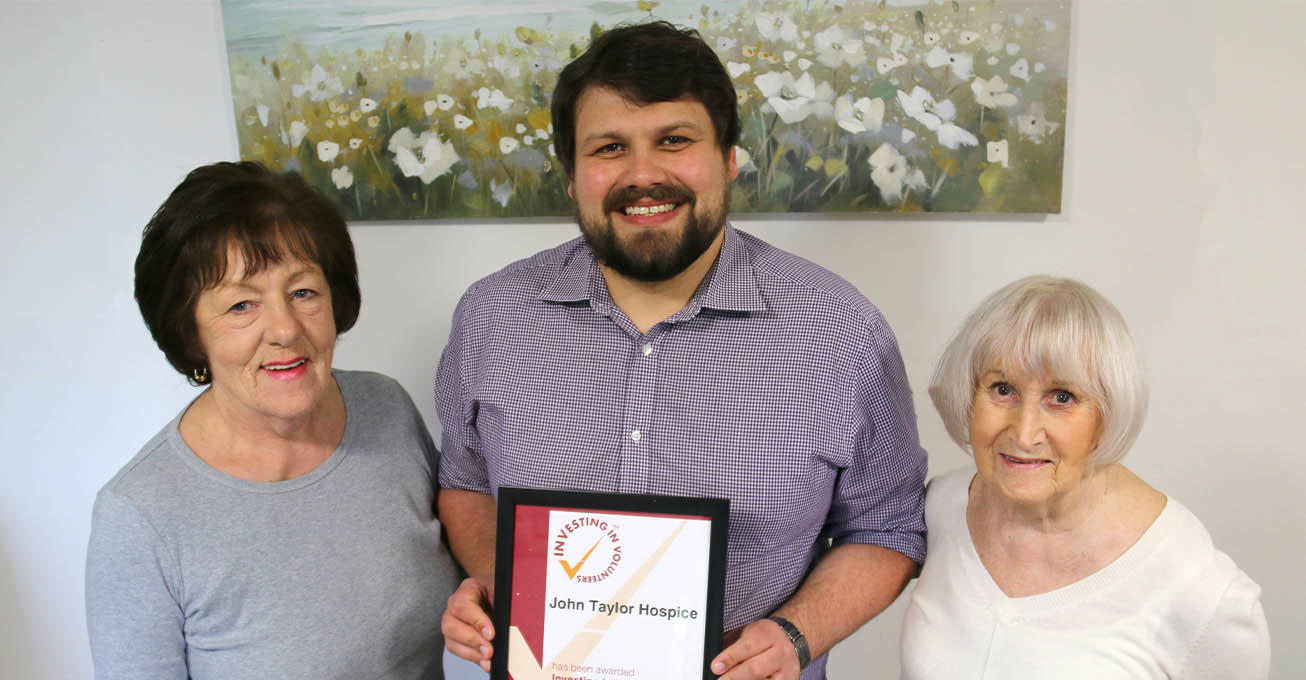 Hospice celebrates outstanding work with volunteers