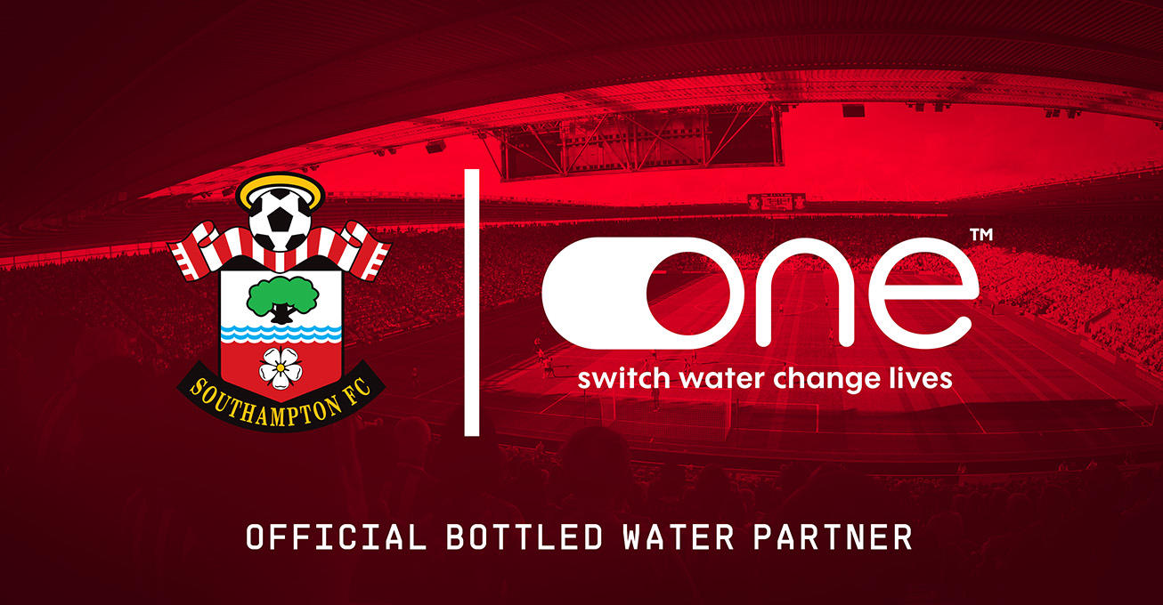Southampton Football Club welcomes One Water as Official Bottled Water