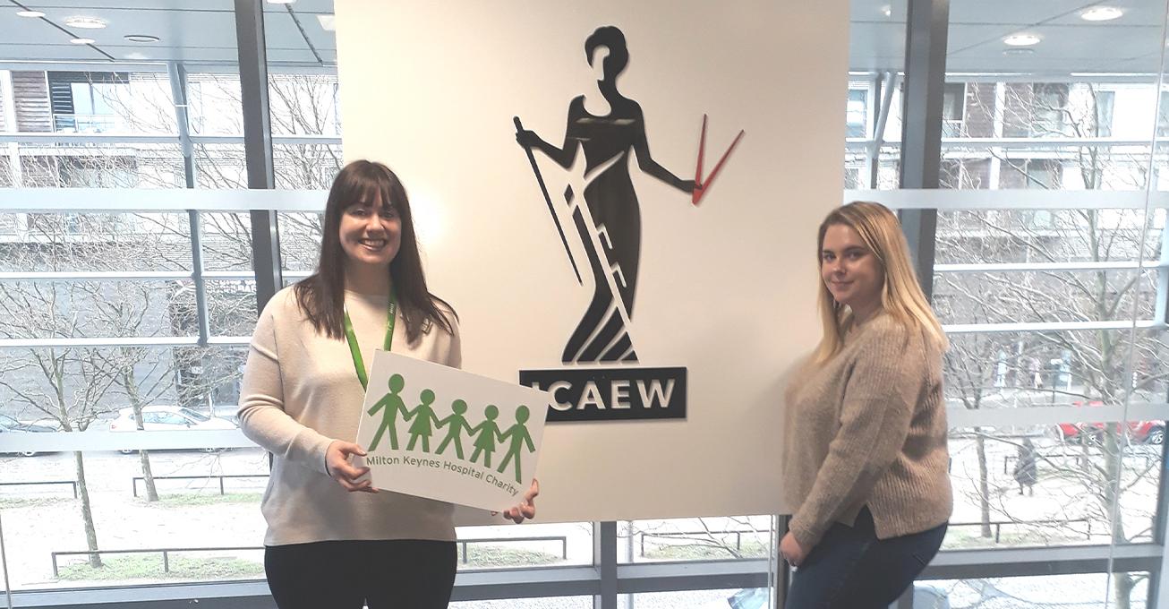 ICAEW chooses Milton Keynes Hospital Charity for 2020