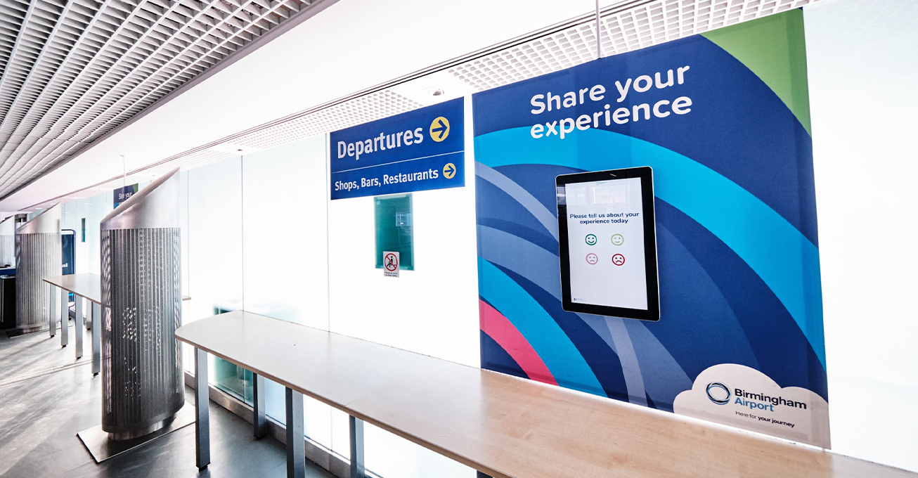 Birmingham Airport invests in bespoke customer feedback system