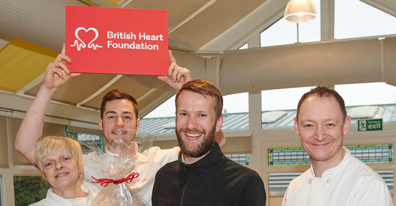 Lubrizol staff give their hearts to the community