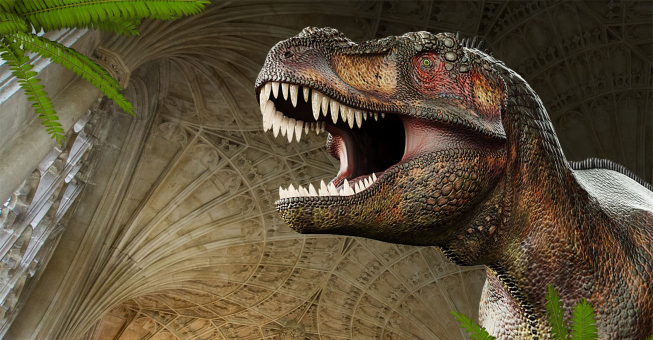 Book now to see the dinosaurs at Peterborough Cathedral