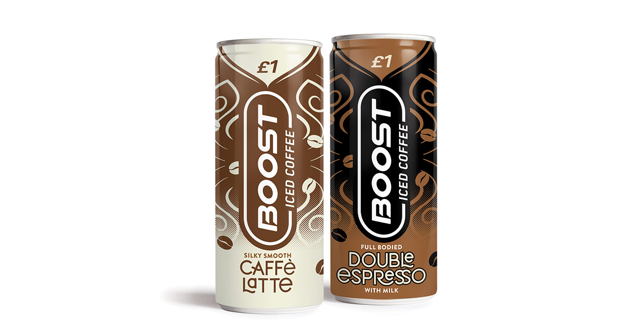 Boost moves into fastest growing category in soft drinks with two brand new coffee SKUs
