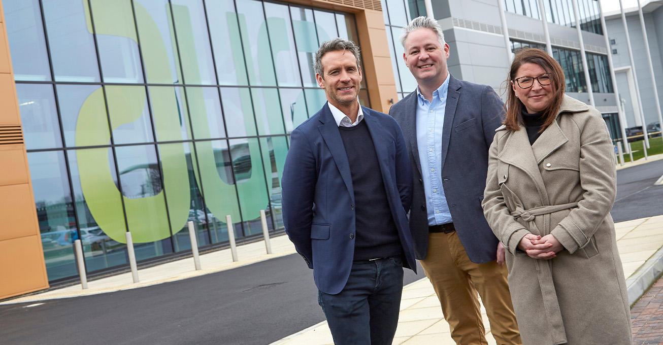 River ready to roll out green energy and IT support packages after getting Aura Innovation Centre well-connected