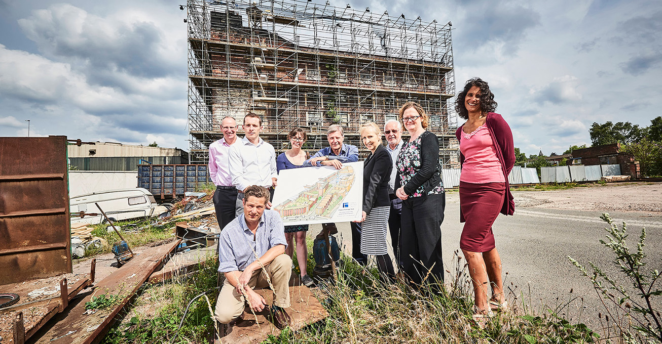 £25m regeneration project to shine a light on historical Black Country site – with a little help from its friends