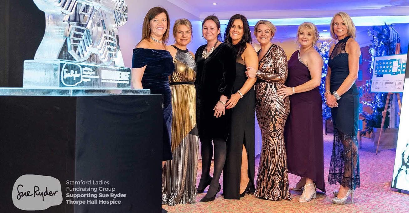 Stamford Ladies Ice Ball raises over £30,000 for Sue Ryder Thorpe Hall Hospice