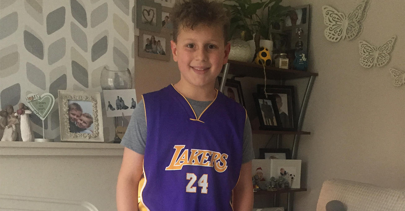 Boy wears shorts for year to support hospice