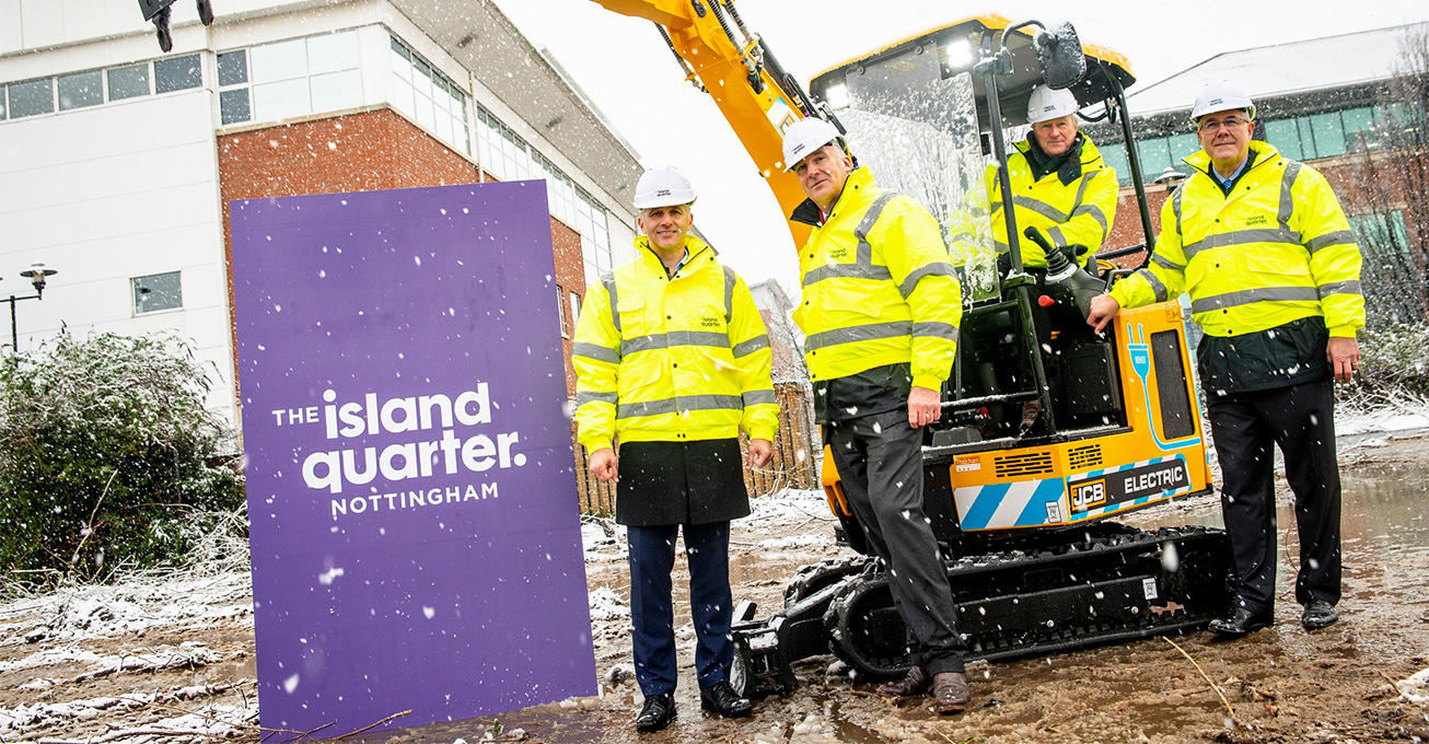 Largest development in city gets underway as work starts to clear The Island Quarter site