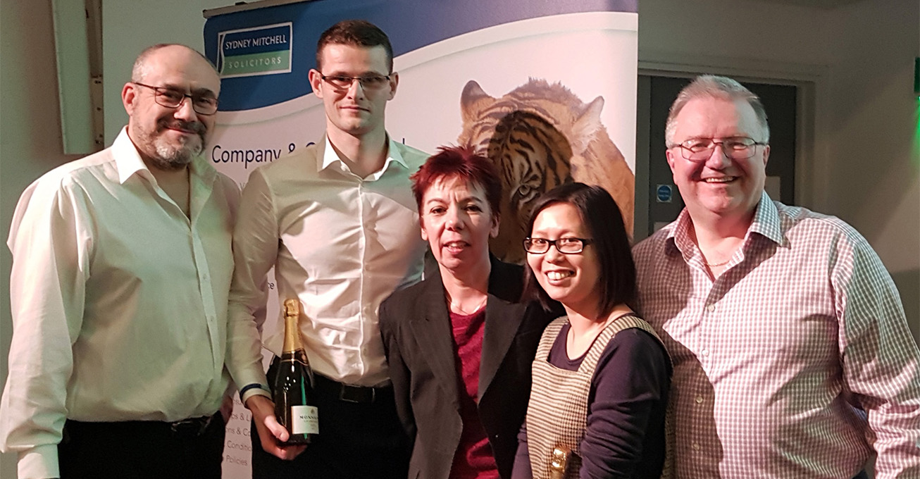 Sydney Mitchell Charity Quiz raises almost £3000 for Midlands Charities