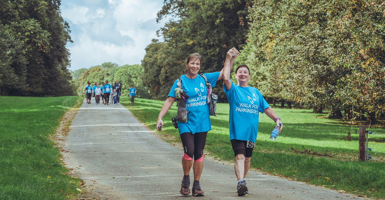 Take strides in the East of England for a Parkinson's cure