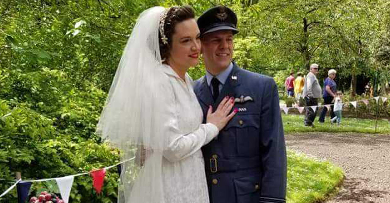 Chance to take a step back to the 1940s whilst tying the knot at Shropshire hotel