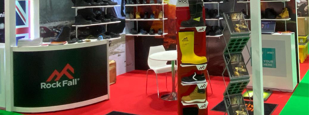 Rock Fall Safety Boots expanding their Worldwide Footprints following a successful exhibition at Intersec in Dubai