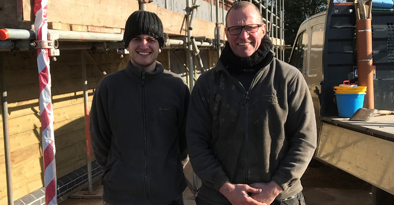 30-year milestone for Worcestershire family construction firm