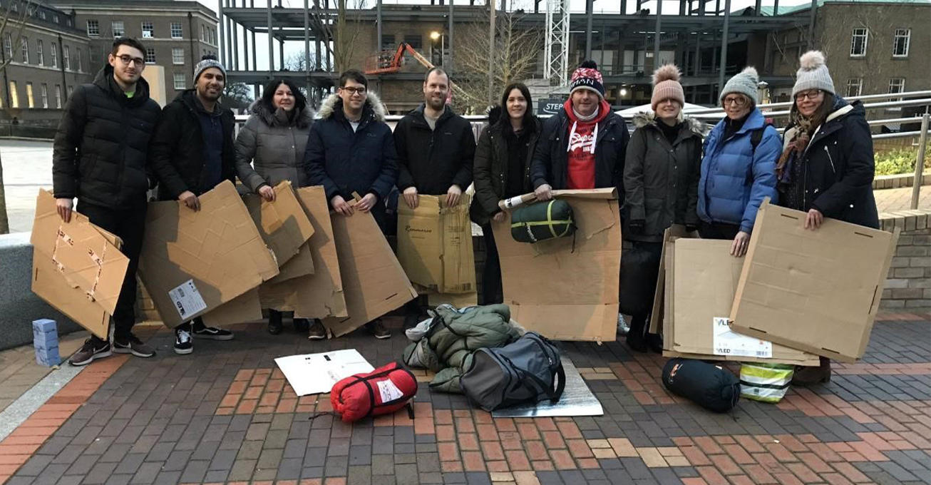 Join The Big Sleep 2020 to help Leicester's homeless