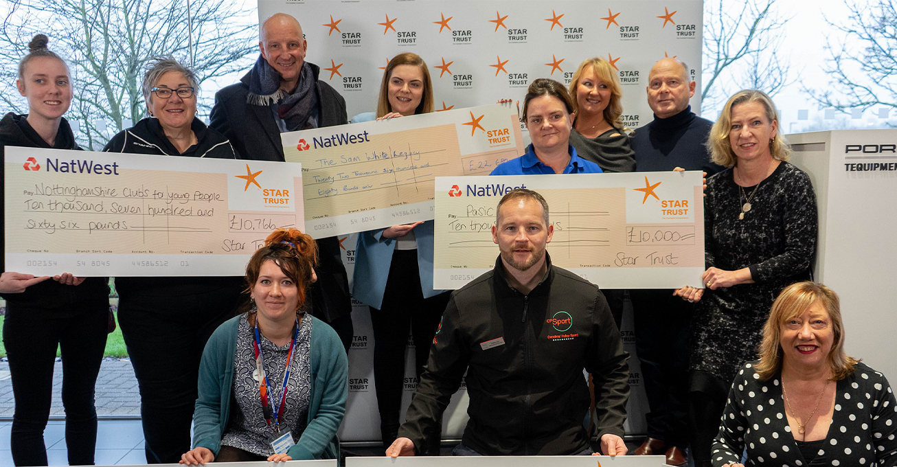 Star Trust hands out £60K to needy East Midlands Charities