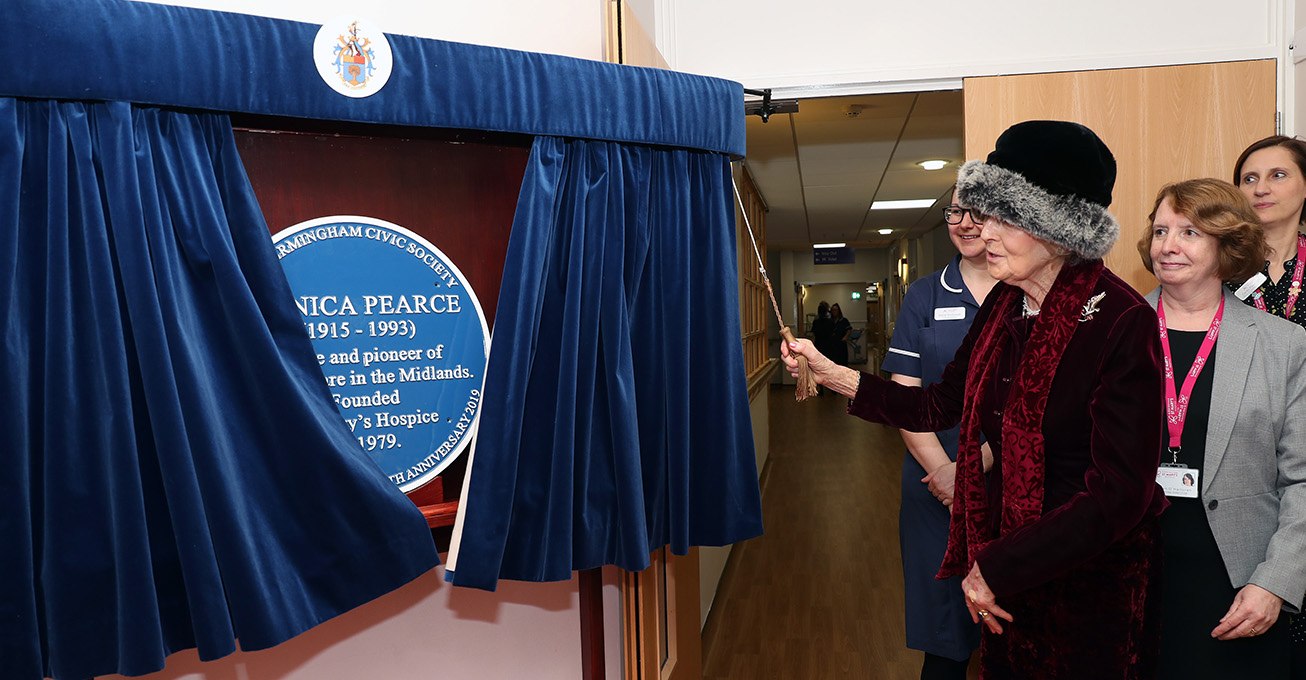 HRH Princess Alexandra returns to Birmingham St Mary's Hospice for 40th anniversary