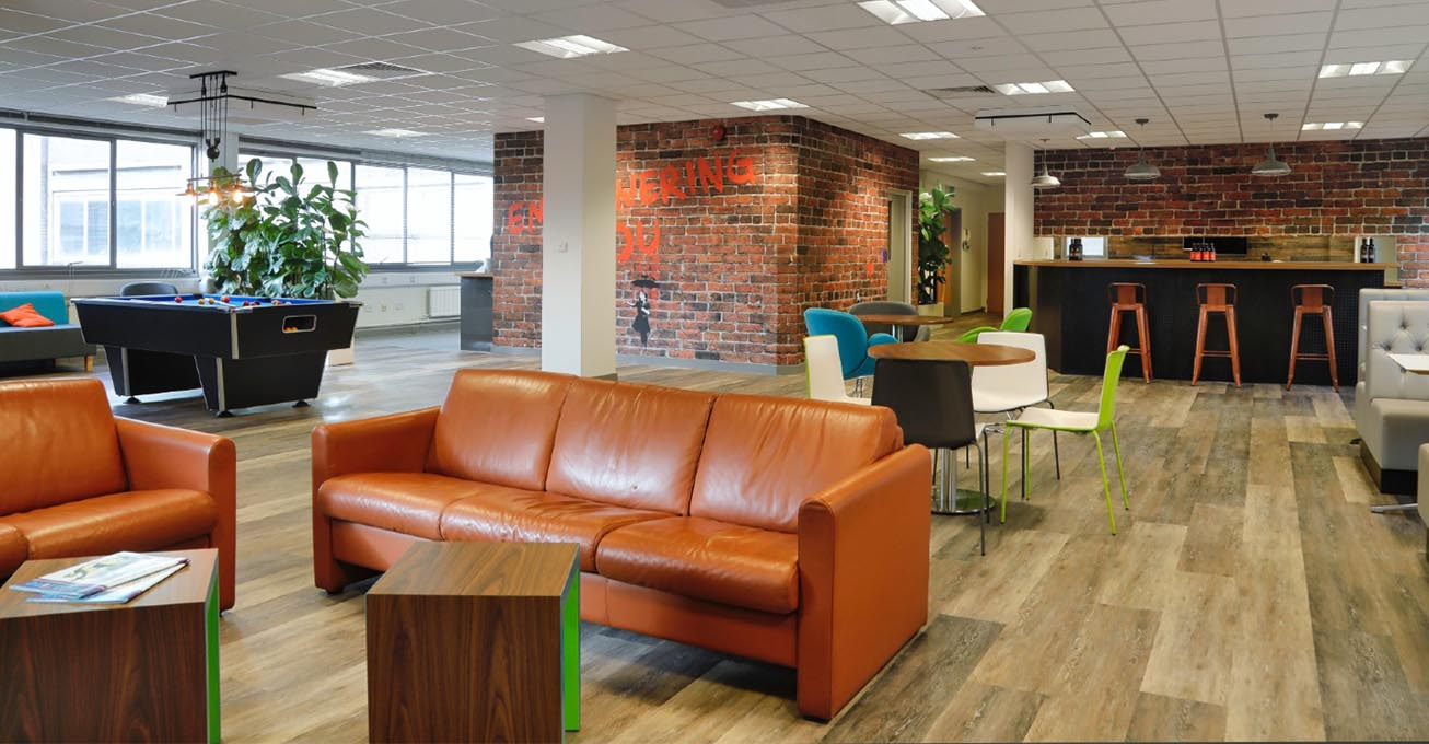 Take a look inside Leicester law firm's revamped office