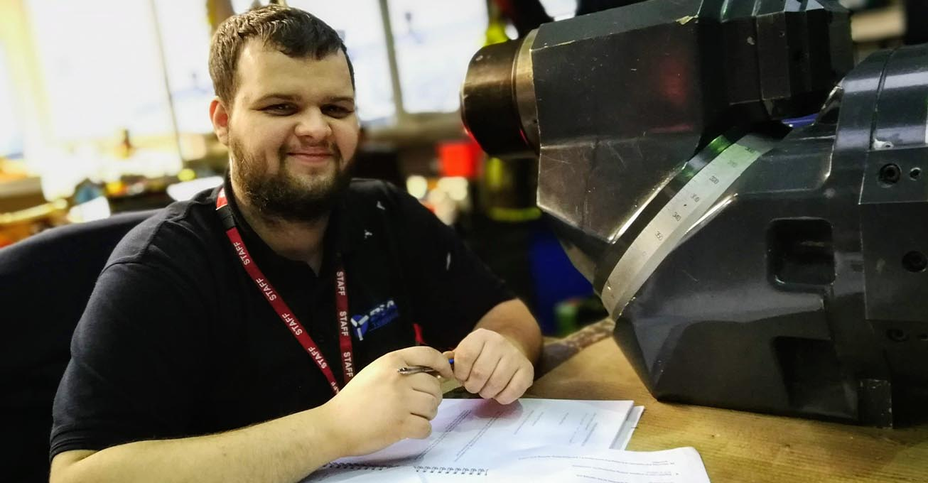 Dave Loveridge becomes first new BSA Tools apprentice for 20 years