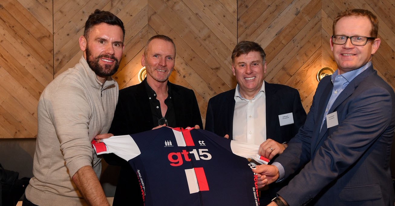 Ben Foster helps launch missions to help put Cure Leukaemia out of business