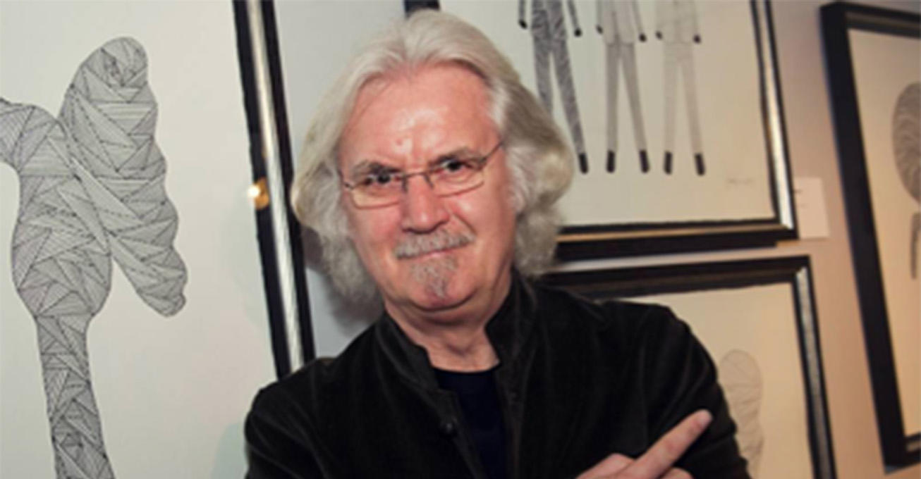 Sir Billy Connolly's world first sculpture to be unveiled in UK exclusive