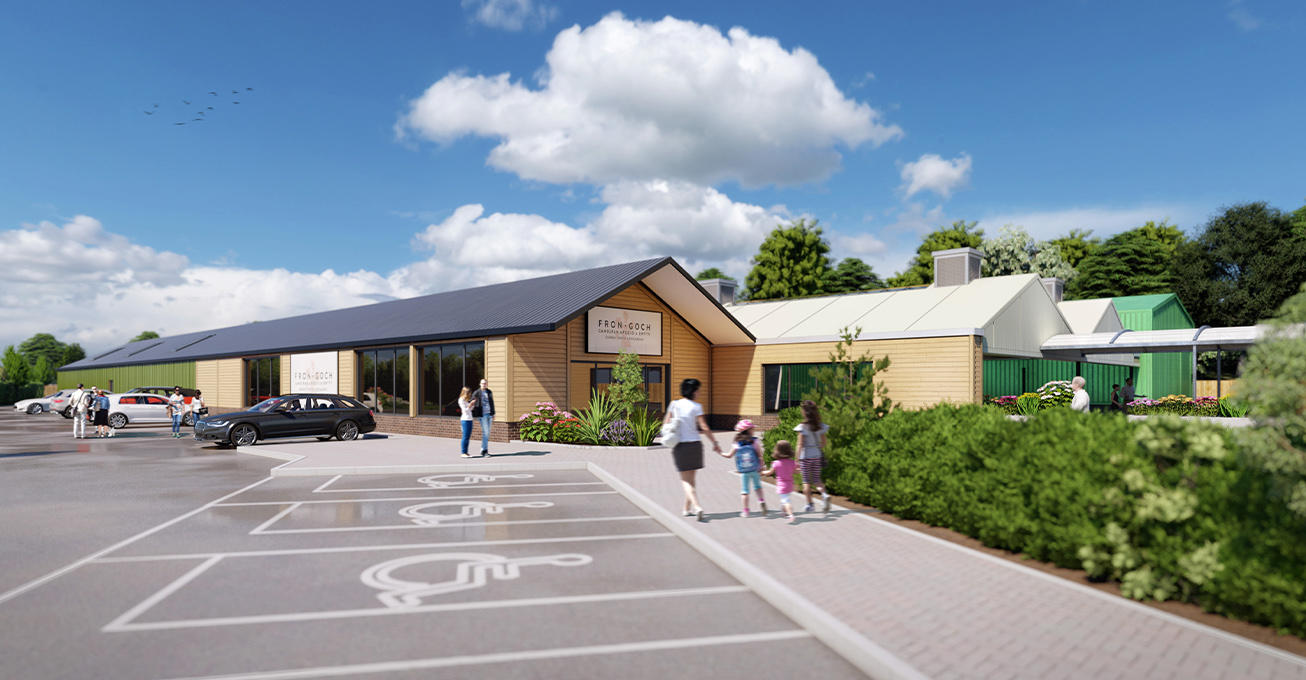 Malcolm Scott Consultants secures permission for extension at Fron Goch Garden Centre