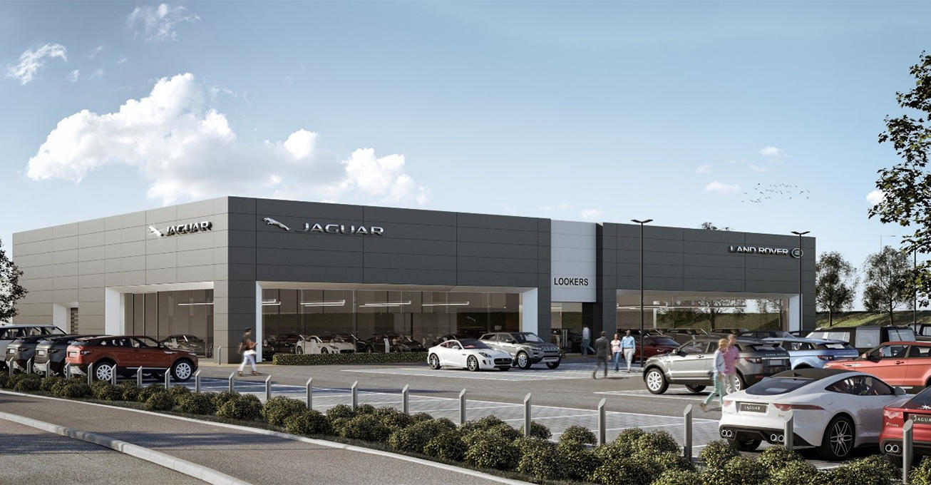 Lookers announces luxurious new Jaguar Land Rover showroom