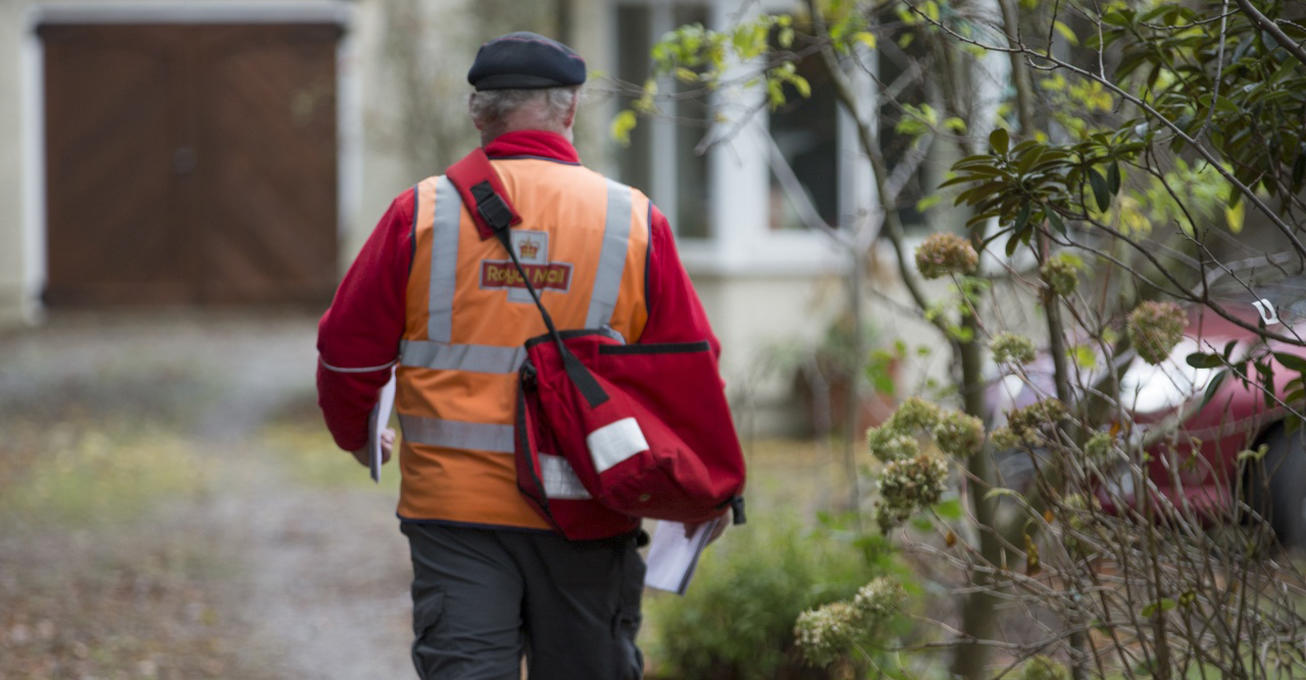 How are the UK courier companies adapting to coronavirus?