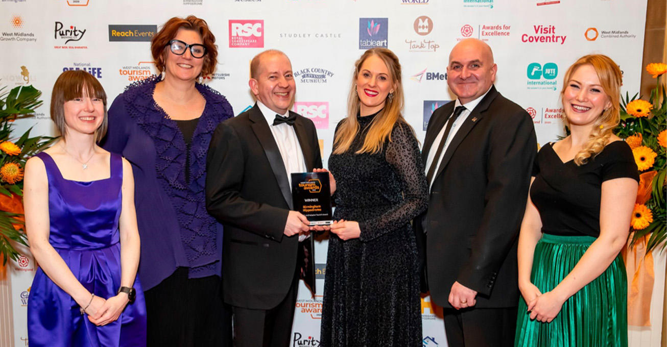 Birmingham Hippodrome win Accessible & Inclusive Tourism award at inaugural West Midlands Tourism Awards
